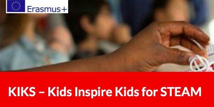 O Departamento de Matemáticas participa en KIKS – Kids Inspire Kids for STEAM