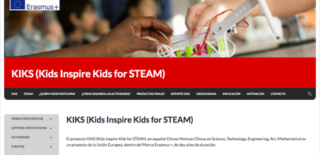 The Department of Mathematics participates in KIKS – Kids Inspire Kids for STEAM
