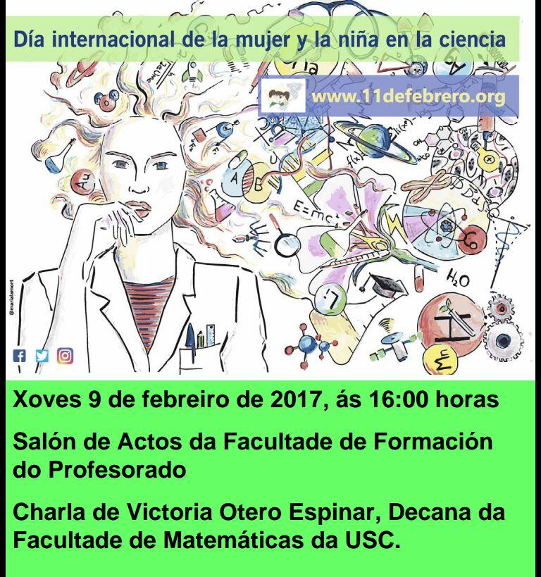 Celebración do día Día Internacional da Muller e a Nena na Ciencia