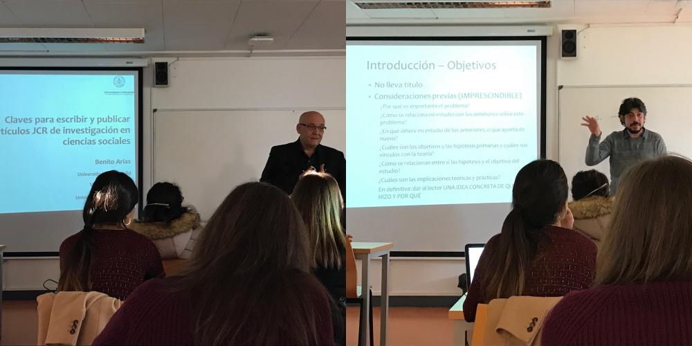 Seminario a cargo de los Dres. Benito Arias y Víctor Arias