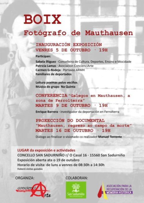 EXPOSICIÓN: BOIX, FOTÓGRAFO DE MAUTHAUSEN